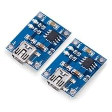 2 stk Landa Tianrui LDTR-WG0115 Lithium-ion batterij opladen Module met Mini USB-poort