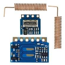 LandaTianrui LDTR-GN004 Mini 433MHz RF ontvanger zendermodule met lente antennes voor Arduino (blauw)