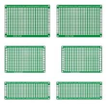 6 stuks LandaTianrui LDTR - WG0032 / T1 dubbelzijdig glas Fiber Prototyping Breadboard PCB Board