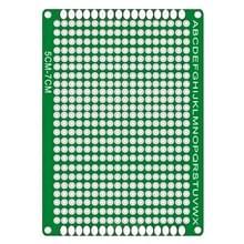 5 PCS LandaTianrui LDTR - WG032 / D2 Double-sided Glass Fiber Prototyping Breadboard PCB Board  Size: 5 x 7cm