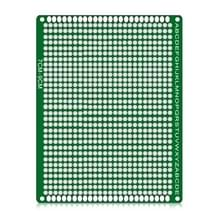 2 PCS LandaTianrui LDTR - WG032 / D3 Double-sided Glass Fibre Breadboard PCB Prototype Board  Size: 7 x 9cm