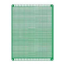 2 PCS LandaTianrui LDTR - WG032 / D5 Double-sided Glass Fiber Prototyping Breadboard PCB Board  Size: 12 x 18cm