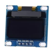 Landa Tianrui LDTR - WG0120 0.96 inch 128 x 64 resolutie I2C Interface OLED Display Module voor Arduino  Screen Display Font kleur: wit
