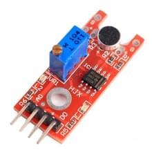 Microfoon Voice geluid Sensormodule met de belangrijkste Chip LM393 voor alarmsysteem