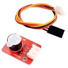 Actieve zoemer geluid Sensormodule met 3 Pin Dupont lijn voor Computers / Printer / fotokopieerapparaat / Alarm / Electronic Toy / auto