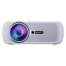 Uhappy U80 PRO 1500LM Android 4.4 Home Theater 800*480 LED WiFi Projector with Remote Control  Amlogic S805 Quad-Core   RAM: 1GB   ROM: 8GB  Support HDMI + USB + TV + AV + VGA(White)