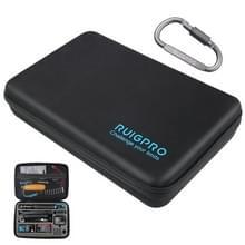 RUIGPRO Shockproof Waterproof Portable Case Box voor DJI Osmo Action  Maat: 33 5 cm x 22 7 cm x 6 3 cm (Zwart)