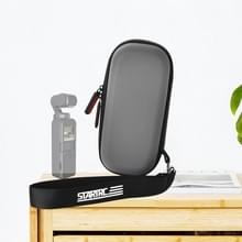 STARTRC Portable Waterproof Carrying PU Hard Case Body Storage Bag voor DJI OSMO Pocket / OSMO Pocket 2(Grijs)