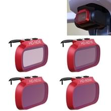 4 PCS PGYTECH P-12A-019 ND8 / 16 / 32 / 64 Dimming Lens Filter Set voor DJI Mavic Mini Drone Accessoires