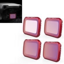 4 PCS PGYTECH P-16A-034 ND8 / 16 / 32 / 64 Lens Filter voor DJI Mavic Air 2 Drone Accessoires