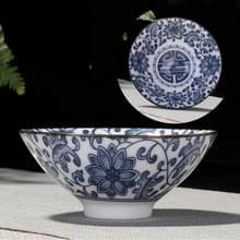Huishoudelijke handgeschilderde keramiek Kung Fu thee set theekopje thee kom  grootte: Large (Lotus)