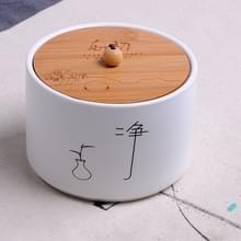 Keramische verzegelde opslag thee kan  grootte: 10 x 7 cm
