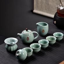 Ge kiln keramische Kungfu Teaware theekopje theepot set  kleur: blauw