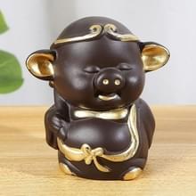 Creatieve Redware thee gunsten thee spelen Kungfu Teaware decoratie  varken Zhu Bajie serie (gratis)
