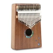 Duim piano kruit 17-Tone vinger piano beginners entry Portable musical instrument kruit vinger piano (maan)