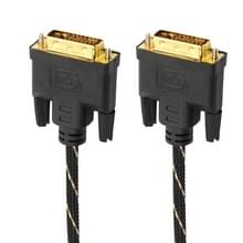 DVI 24 + 1 pin male naar DVI 24 + 1 pin Male grid adapter kabel (0.5 m)