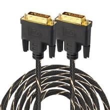 DVI 24 + 1 pin male naar DVI 24 + 1 pin Male grid adapter kabel (10m)