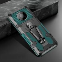 Voor Huawei Mate 40 Pro Machine Armor Warrior Shockproof PC + TPU Beschermhoes (Army Green)