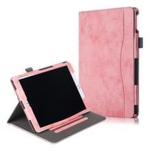 Voor iPad Air 3 koeienhuid textuur horizontale Flip lederen draagtas met houder & slaap/Wake-up functie (roze)