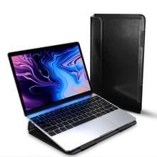 Voor MacBook 12 inch DUX DUCIS HEFI serie laptop beschermende staande Sleeve (zwart)