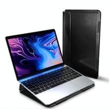 Voor MacBook 13 inch DUX DUCIS HEFI serie laptop beschermende staande Sleeve (zwart)