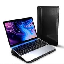 Voor MacBook 13 3 inch DUX DUCIS HEFI serie laptop beschermende staande Sleeve (zwart)