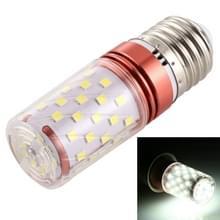 E27 12W 500LM 60 LEDs Corn gloeilamp 185-240V SMD 2835  wit licht 6000K