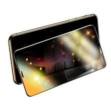 Voor iPhone XS Max USAMS US-BH511 9H 0.3 mm Anti-Glare volledige dekking gehard glas film