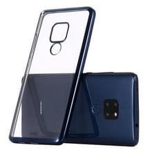 Voor Huawei Mate 20 GEBEI Plating TPU Shockproof Protective Case(Blauw)