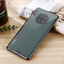 Voor Huawei Mate 30 Pro GEBEI Plating TPU Shockproof Beschermhoes (Zwart)