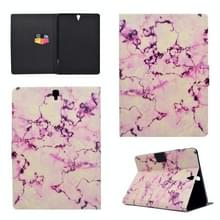 Voor Galaxy Tab S3 9.7 T820 TPU Horizontale Flip Lederen kast met Holder & Card Slot & Sleep / Wake-up Functie(Pink Marble)