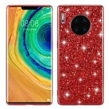 Voor Huawei Mate 30 Pro Glittery Powder Shockproof TPU Case(Red)