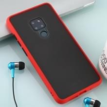 Voor Huawei Mate 20 Skin Hand Feeling Series Anti-fall Frosted PC+ TPU Case(Red)