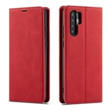 Voor Huawei P30 Pro Forwenw Dream Series Oil Edge Strong Magnetism Horizontal Flip Leather Case met Holder & Card Slots & Wallet & Photo Frame(Red)