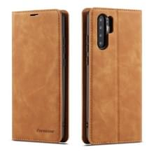 Voor Huawei P30 Pro Forwenw Dream Series Oil Edge Strong Magnetism Horizontal Flip Leather Case met Holder & Card Slots & Wallet & Photo Frame(Brown)