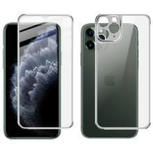 Voor iPhone 11 Pro IMAK metalen frame volledig scherm gehard glas filmscherm film + terug film (zilver)