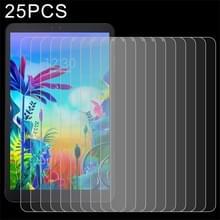 25 stuks 9H 2.5 D explosieveilige gehard glas film voor LG G Pad 5 10 1 inch
