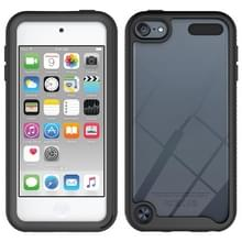 For iPod Touch 5 / 6 / 7 Two-layer Design Shockproof PC + TPU Protective Case(Black)