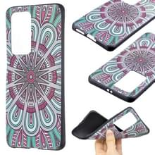 Voor Huawei P40 Pro Embossment Patterned TPU Soft Cover Case (Mandala)