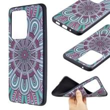 Voor Galaxy S20 Ultra Embossment Patterned TPU Soft Cover Case (Mandala)