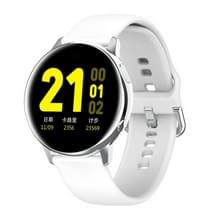 SG20 1 2 inch AMOLED-scherm Smart Watch  IP68 waterdicht  Ondersteuning Muziekbediening / Bluetooth-foto / Hartslagmeter / Bloeddrukbewaking(Zilver)