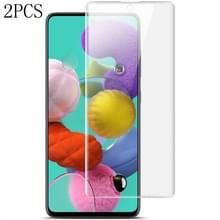 2 PCS voor Galaxy A51 IMAK Curved Full Screen Hydrogel Film