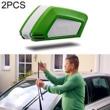 2 PCS Auto Ruitenwisser Blade Restaurateur