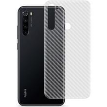 Voor Xiaomi Redmi Note 8 IMAK PVC Carbon Fiber Textuur Doorschijnende Feel Back Film