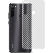 Voor Xiaomi Redmi Note 8T IMAK PVC Carbon Fiber Textuur Doorschijnende Feel Back Film