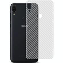 Voor Asus Zenfone Max Pro (M1) ZB601KL / ZB602KL IMAK PVC Carbon Fiber Texture Translucent Feel Back Film