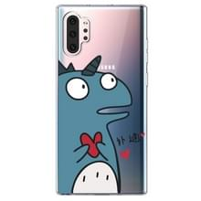 Voor Galaxy Note 10 Plus Lucency Painted TPU Protective (Loving Dinosaur)