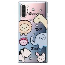 Voor Galaxy Note 10 Plus Lucency Painted TPU Protective(Zoo)