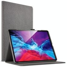 Voor iPad Pro 12.9 (2020) ESR Simplicity Series Horizontale Flip Lederen Case met Holder & Sleep / Wake-up Function & Pen Slot(Twilight)