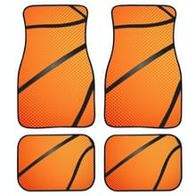 4 in 1 Patroon Universal Printing Auto Car Floor Mats Set  Style:H4102GP